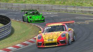 Manthey-Racing Digitale Nürburgring Langstrecken-Serie 2020
