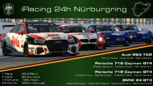 24h Nürburgring powered by VCO 2020 Sorg Rennsport ESports