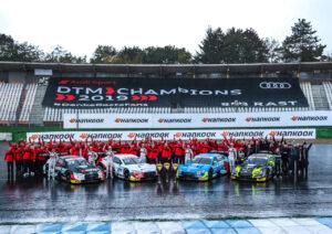 Audi Sport Team Phoenix, Audi Sport Team Rosberg, Audi Sport Team Abt Sportsline, WRT Team Audi Sport