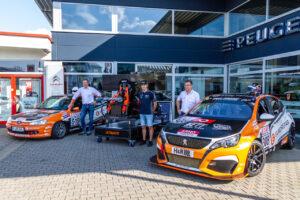 Ultimate Nett Racing v.l.n.r. Achim Nett, Paul Diederich und Jürgen Nett