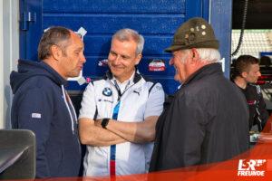 Gerhard Berger (Links), Jens Marquardt (Mitte), Hans Heyer (Rechts)