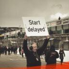 Symbolfoto Start delayed