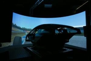 BMW Motorsport simulator, simulator, sim, DTM, screen.
