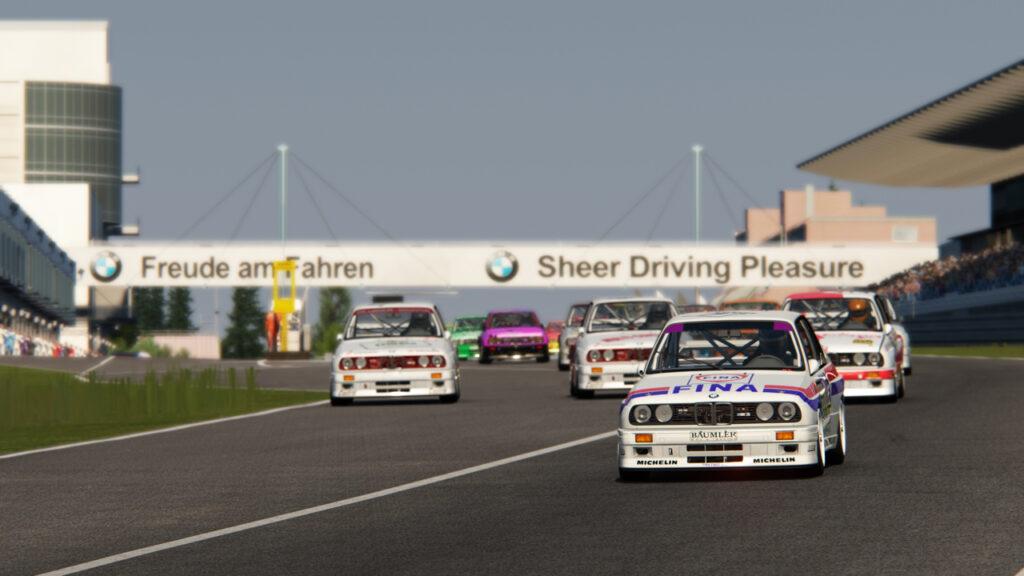 Sim Racing International Bmw Group Rumänien Lässt Den Legendären Bmw M3 E30 Dtm Virtuell Wieder Aufleben Lsr Freun De