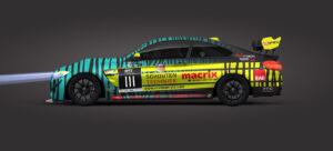 BMW M4 GT4 RN Vision STS Racing Team