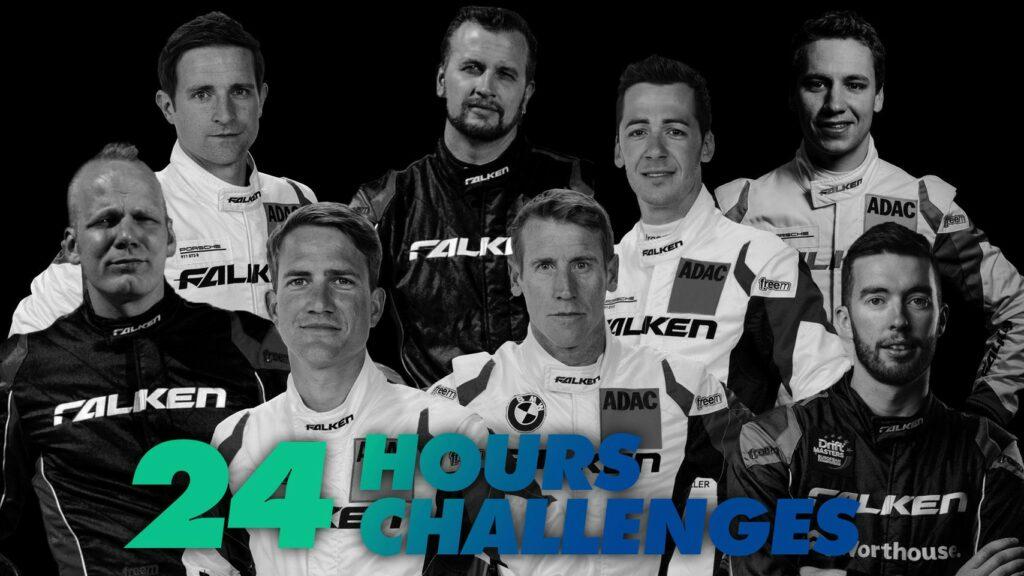 24 Challenges in 24 Stunden – Falken Motorsports