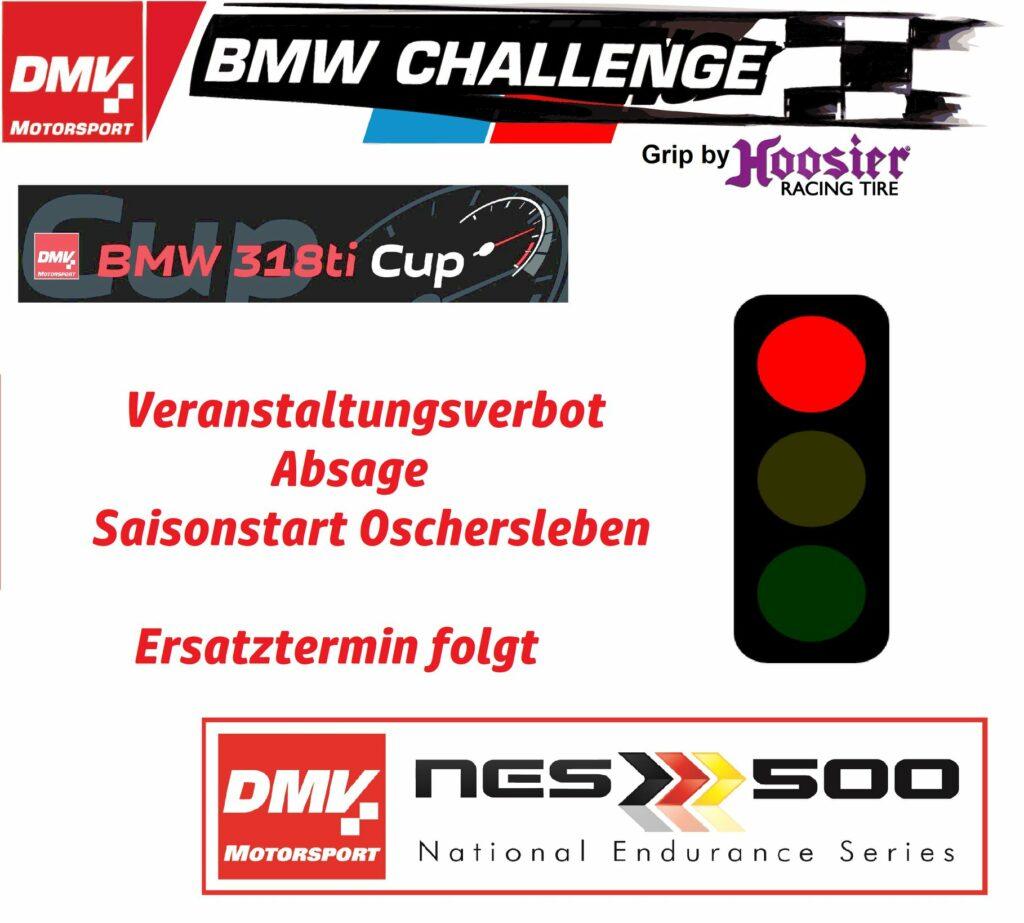 DMV NES 500 Absage Oschersleben
