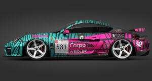 RN Vision STS Racing Porsche Cayman GT4 DMV NES 500