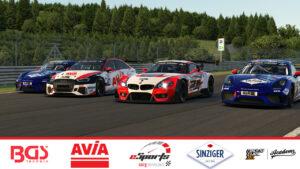 Sorg Rennsport eSports Line-Up iRacing 24h Nürburgring 2020