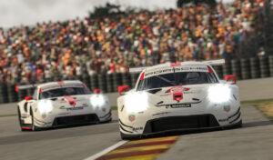 Porsche 911 RSR virtual 24h Le Mans