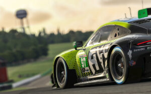 Porsche 911 RSR, AIM Vasser Sullivan (#97), Shane van Gisbergen (NZ)