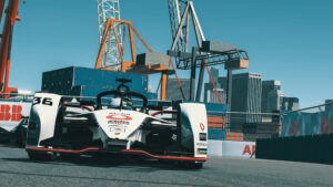 Porsche 99X Electric Andre Lotterer New York Race at Home Challenge 2020