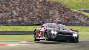 BMW SIM 120 Cup, Nürburgring, BMW M8 GTE, sim racing, Team Redline.