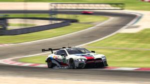 BMW SIM 120 Cup, Nürburgring, BMW M8 GTE, sim racing, Max Hesse, Erik Johansson.
