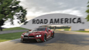 IMSA iRacing Pro Series, BMW M8 GTE, Road America, sim racing, simulator, Bruno Spengler.