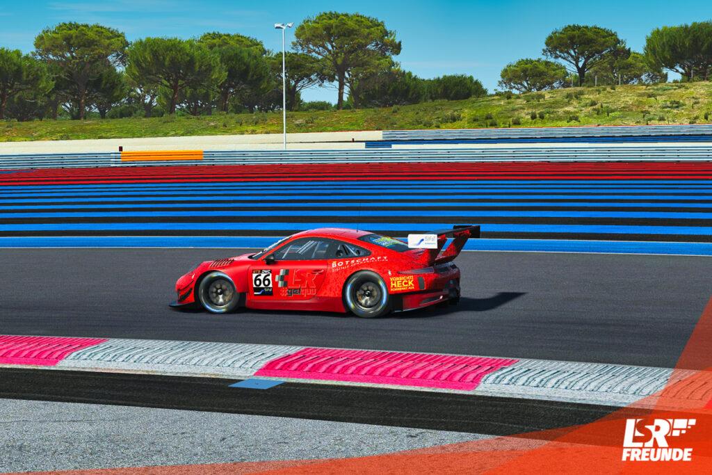 Porsche911GT3#66 LSR-Team #getquu Paul Ricard side