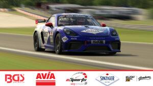 Porsche Cayman GT4 Sorg Rennsport eSports iRacing 2020