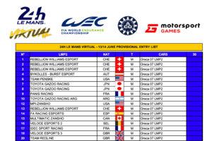 Virtual Le Mans 24h 2020