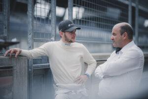 Florian Janits (li.) uns Hans Reiter True Racing