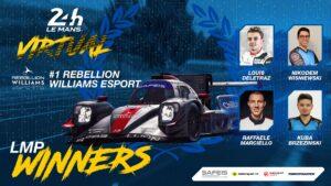 Virtual 24h Le Mans 2020