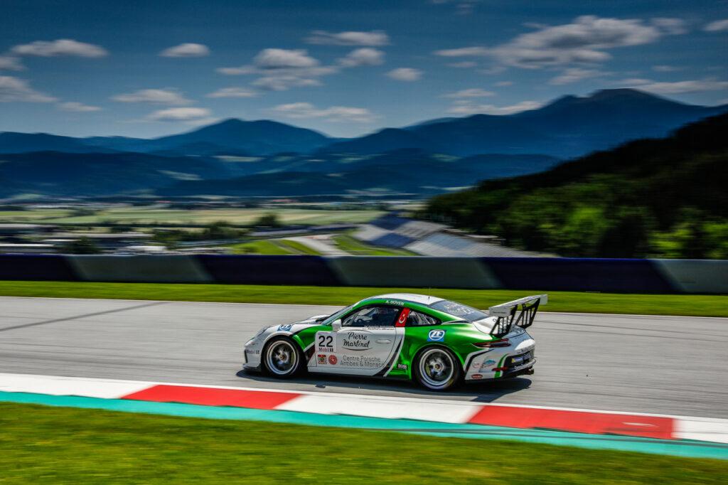 Spielberg: Porsche Mobil Supercup Test Spielberg Ayhancan Güven (TR / Martinet by Almeras)