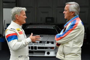 Norisring (GER), 7th July 2019. BMW M1 Procar Revival, BMW Group Classic, Marc Surer, Jochen Neerpasch.