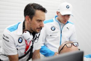 ABB FIA Formula E Championship Season 6, Testing, BMW i Andretti Motorsport, Valentino Conti (GER) Chef engineer..