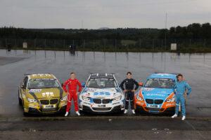 Nürburgring (GER), 14th June 2020. BMW Junior Team, Dan Harper (GBR), Max Hesse (GER) and Neil Verhagen (USA). BMW M240i Racing.