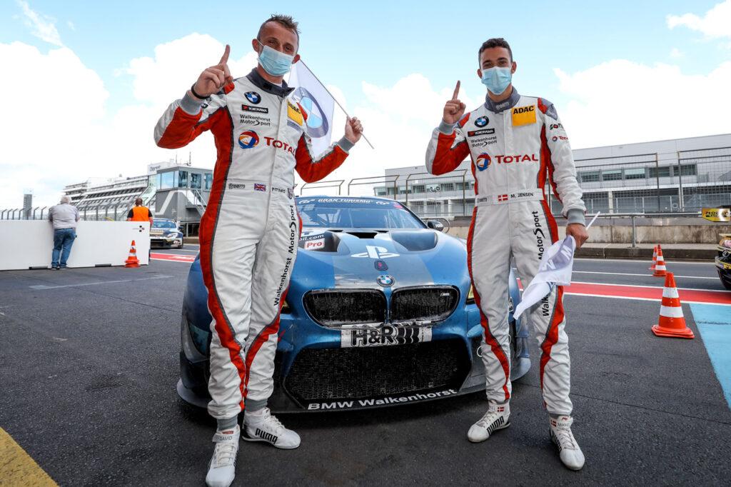 Nürburgring (GER), 27th June 2020. NLS Nürburgring, Round 1, #34 Walkenhorst Motorsport BMW M6 GT3, David Pittard (GBR), Mikkel Jensen (DEN).