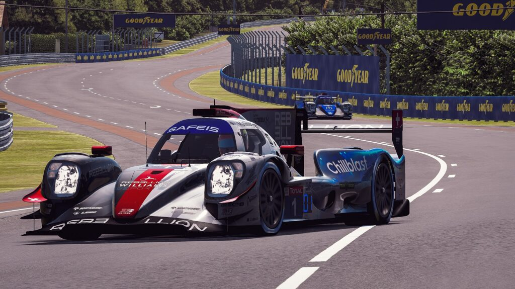 Rebellion Williams Esport virtual 24h Le Mans 2020