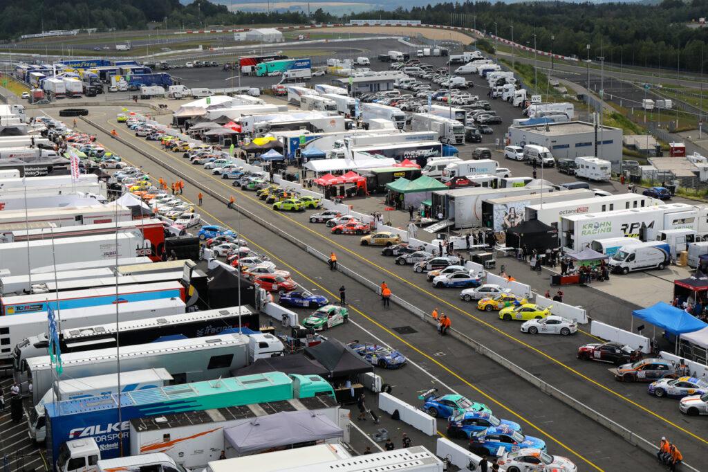 VLN Langstreckenmeisterschaft Nuerburgring 2020, 51. Adenauer ADAC Rundstrecken-Trophy (2020-06-27): Parc Fermé.