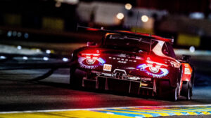 Impressionen vom 911 RSR Art Car in Le Mans 2019