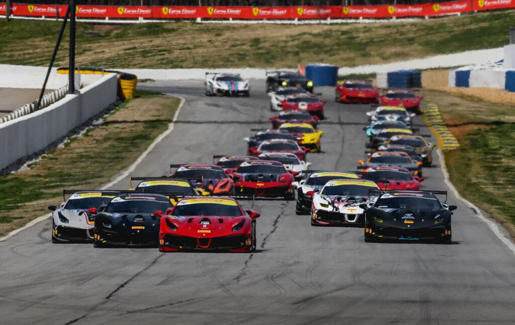 Ferrari Challenge Nordamerika Kündigt überarbeiteten Zeitplan Für 2020 An Lsr Freun De
