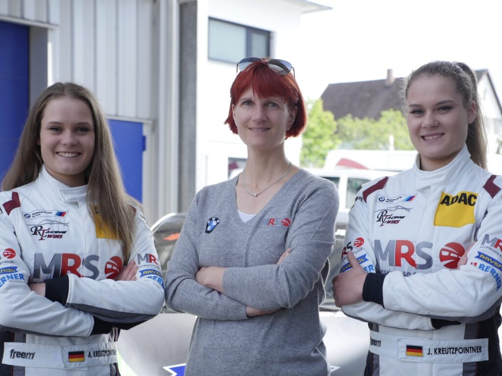 Alesia Kreutzpointner, Iris Dorr und Jacqueline Kreutzpointner