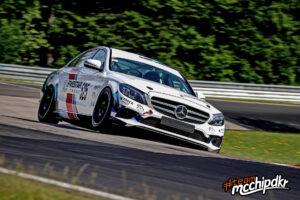 Mercedes-Benz C300 W205 Team mcchip-dkr NLS 2020