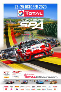 Poster TOTAL 24h Spa Francorchamps 2020