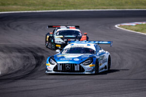 ADAC GT Masters, Lausitzring Test, HTP-WINWARD, Philip Ellis, Raffaele Marciello