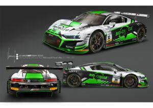 GT Masters, WRT-Audi, Mirko Bortolotti und Rolf Ineichen