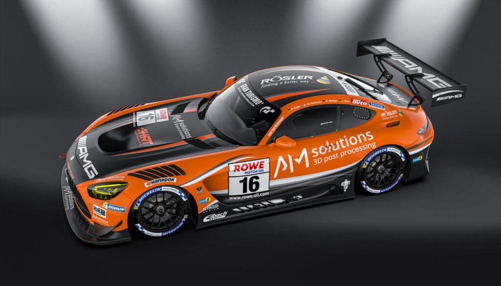 HRT Haupt Racing Team Mercedes-AMG GT3 NLS 2020 #16