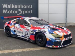 Walkenhorst Motorsport BMW M6 GT3 #34 NLS 2020