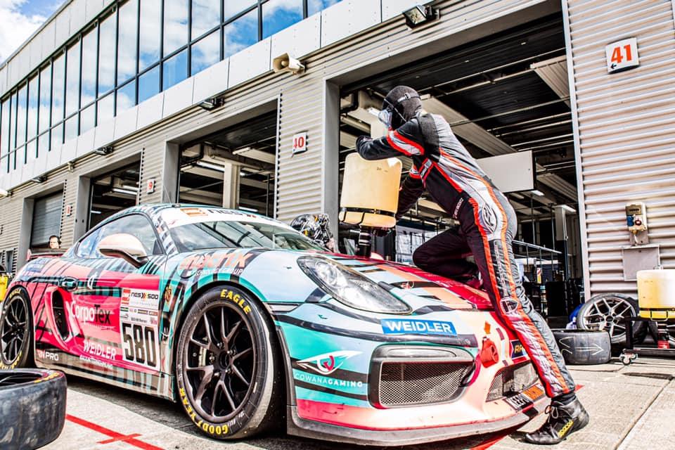 RN Vision STS Racing Team Porsche Cayman GT4 DMV NES 500 2020