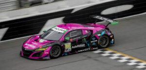 Mario Farnbacher IMSA 2ß2ß Daytona Meyer Shank Racing Acura NSX GT3
