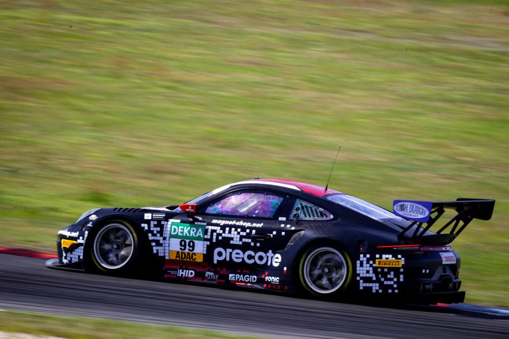 ADAC GT Masters, Testfahrten Lausitzring 2020 - Foto: Gruppe C Photography; #99 Porsche 911 GT3 R, Precote Herberth Motorsport: Robert Renauer, Sven Mueller