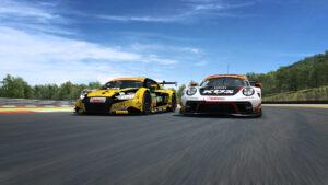 Zweites Rennen der ADAC GT Masters eSports Challenge