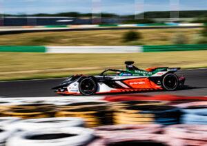 Testfahrten Formel E, Lausitzring René Rast, Audi e-tron FE06