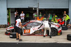 WTM Racing Ferrari 488 GT3 12h Monza 2020