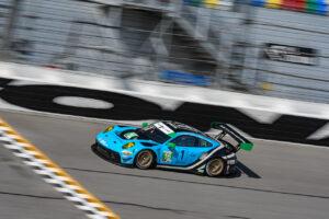 Porsche 911 GT3 R, Wright Motorsports (#16), Patrick Long (USA), Ryan Hardwick (USA Daytona