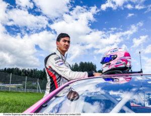 Jaxon Evans (NZ), BWT Lechner Racing, Porsche Mobil 1 Supercup, Spielberg 2020,