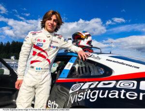 Mateo Llarena (GT), MRS GT-Racing, Porsche Mobil 1 Supercup, Spielberg 2020,