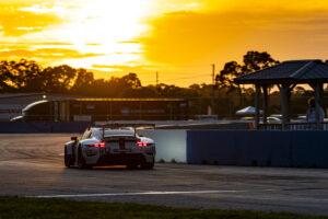 2020 IMSA - Grand Prix of Sebring Porsche 911 RSR, Porsche GT Team (#912), Earl Bamber (NZ), Laurens Vanthoor (B)
